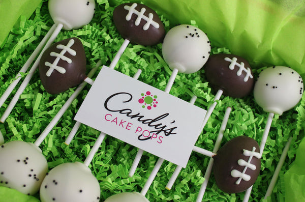 Football Cake Pops Box