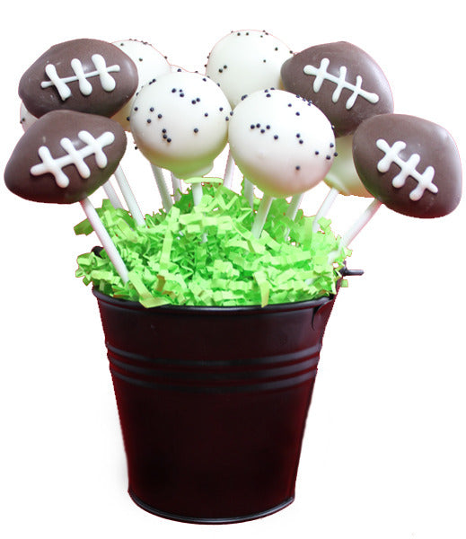Football Cake Pop Basket