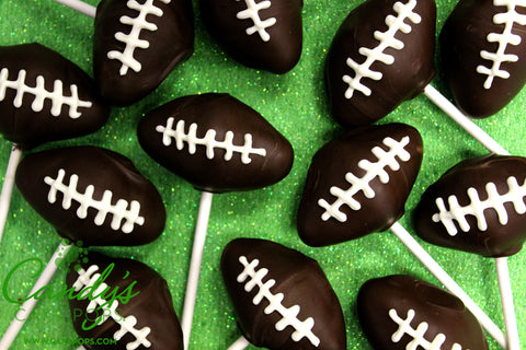 Football Party Cake Pops