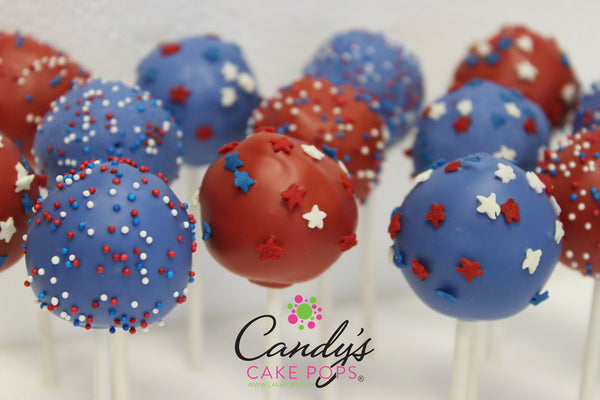Fourth Of July Cake Pop Box