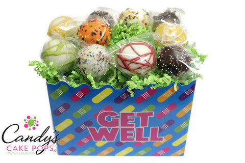 Get Well Soon Cake Pops