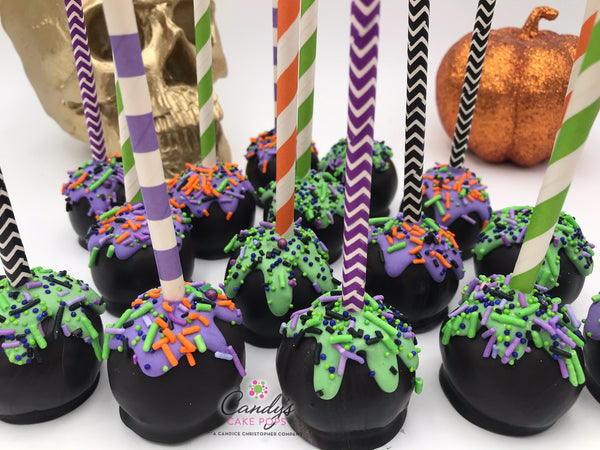 Halloween Party Candy Buffet Cake Pops (Self-Standing)