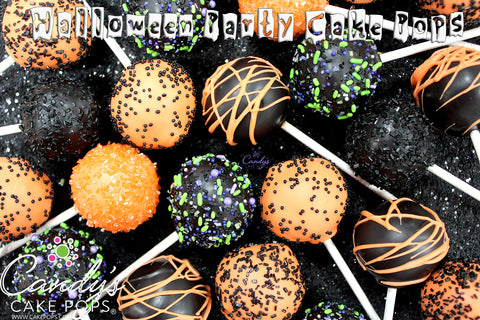 Halloween Party Cake Pops (Starts at 2 Dozen)
