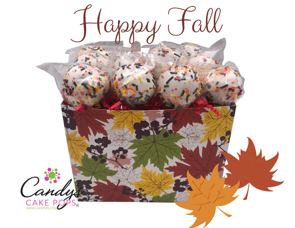 Fall Season / Thanksgiving Holiday Cake Pop Gift Box