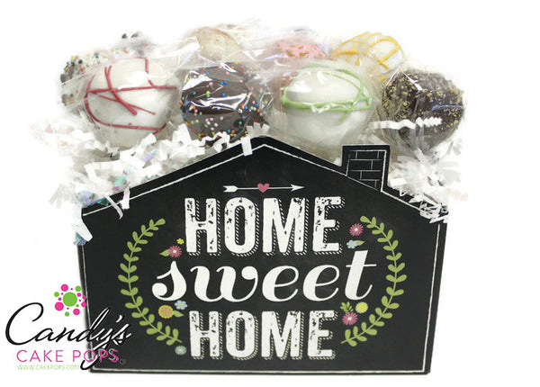 Home Sweet Home Cake Pop Gift Box