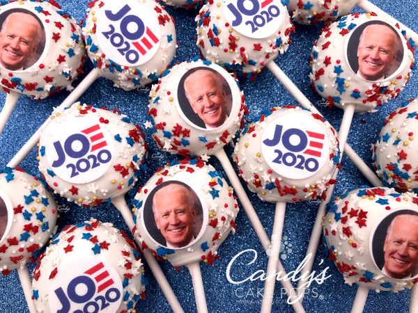 Election Cake Pops Biden 2020