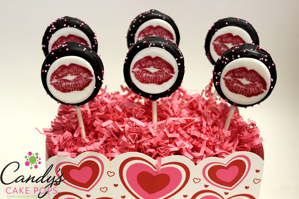 Kiss Me Oreo Cookie Pops Gift Box