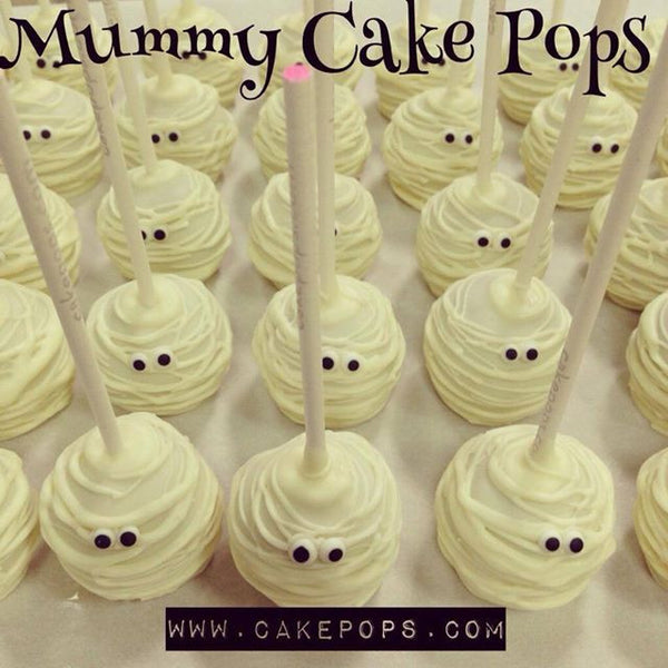 Halloween Mummy Cake Pop Box