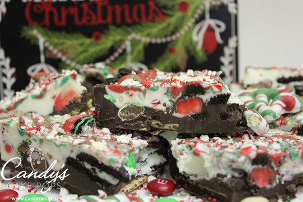 Christmas Peppermint Bark Gift Box