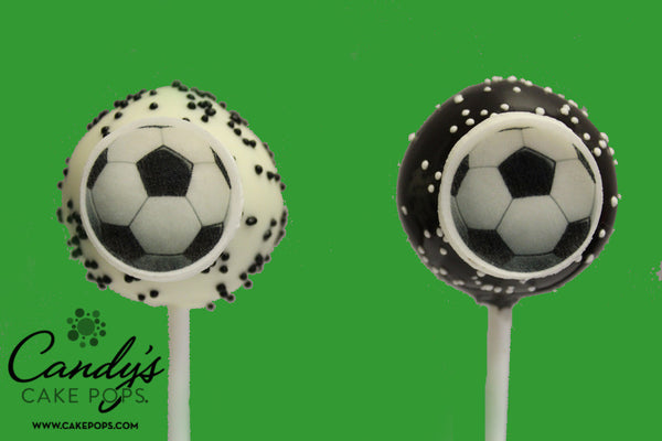 Soccer Ball Cake Pops