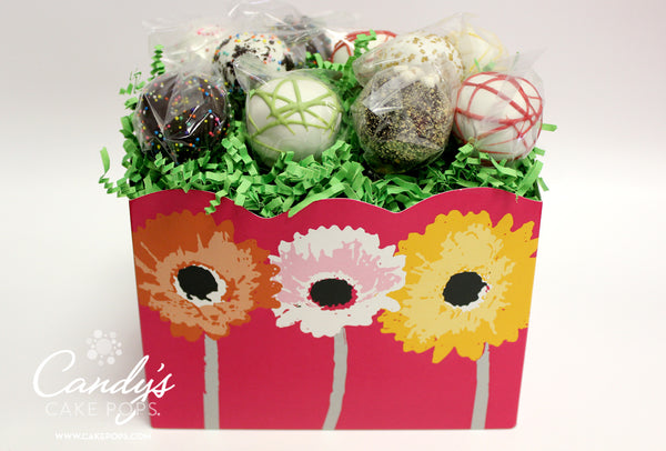 Daisy Flower Cake Pop Box