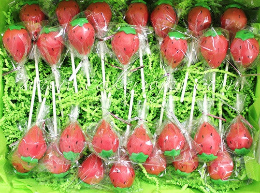 Strawberry Cake Pops