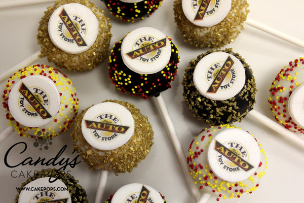 Corporate Company Edible Logo Cake Pops Candy S Cake Pops