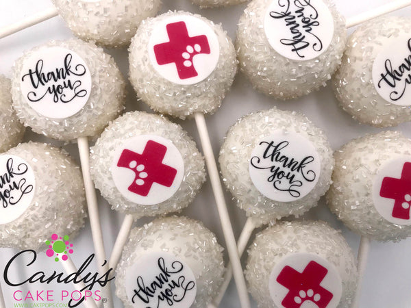 Veterinary Thank You Gift Cake Pops