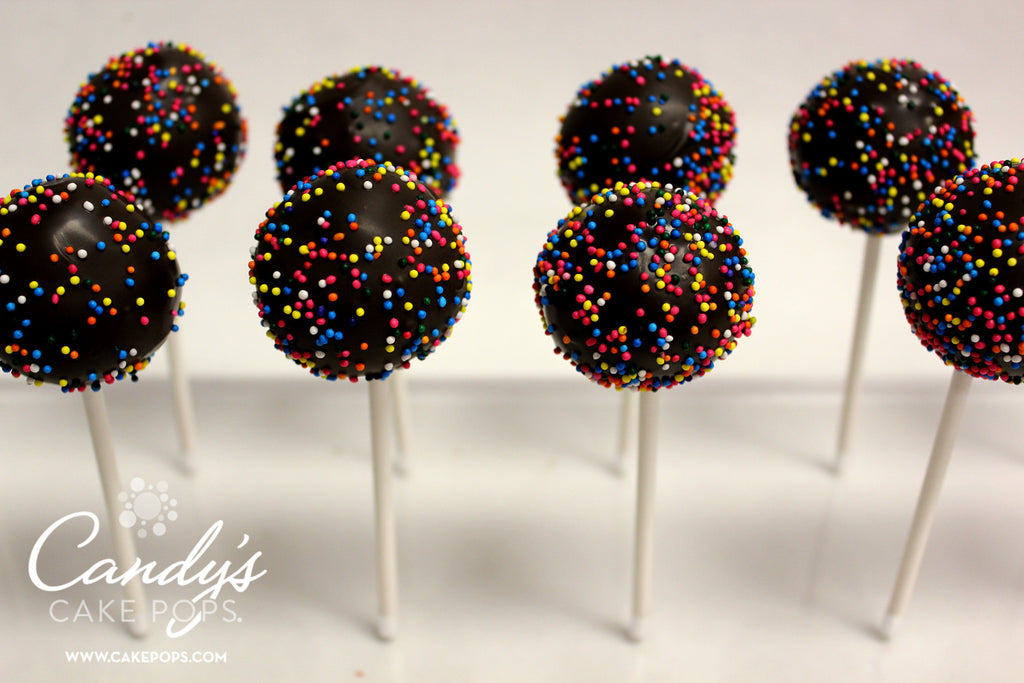 Wholesale Bulk Simple Design Cake Pops ONE CHOCOLATE
