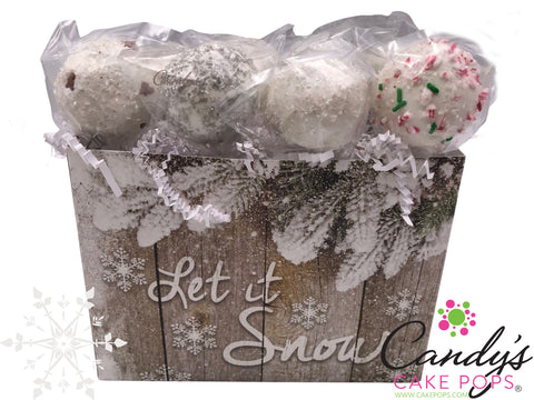 Let it Snow Cake Pop Gift Box