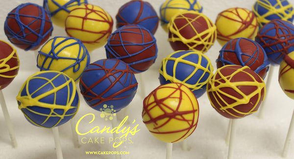 Custom Color Cake Pops