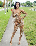 Melody Animal Print Jumpsuit