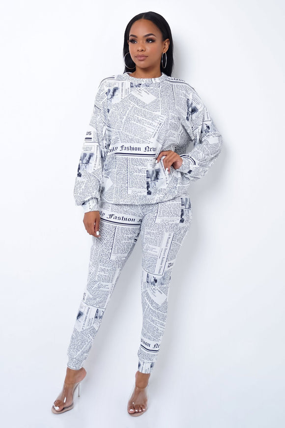 Fashion Times Pant Set