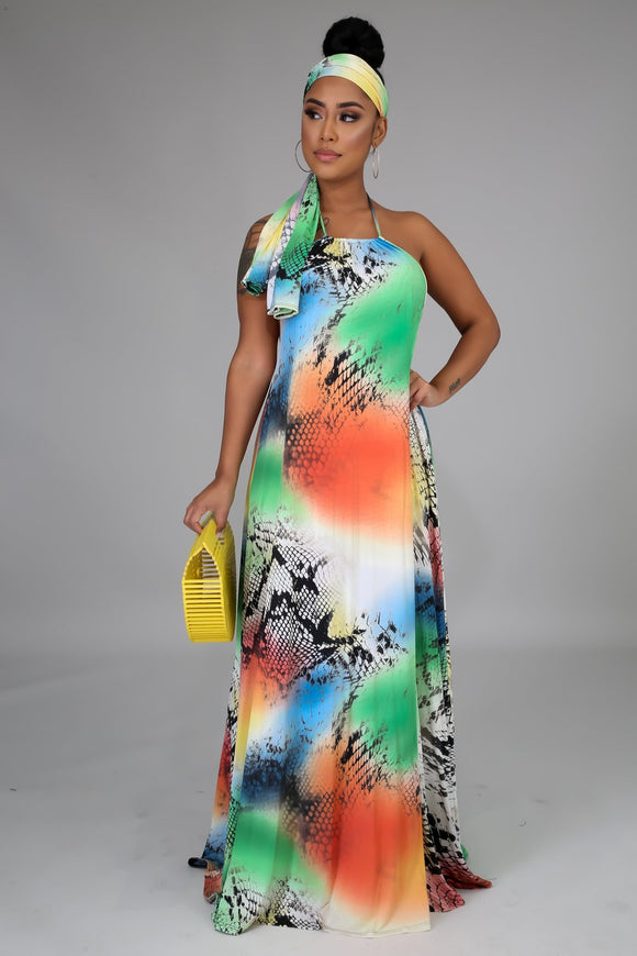Fierce Maxi dress