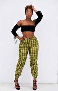 Candy Ruched Jogger Pants