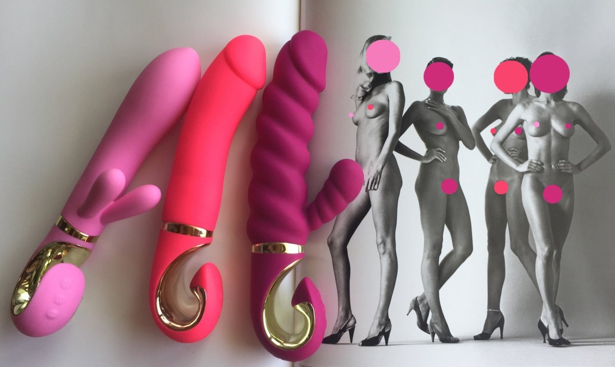 Grabbit Vibrator For Clit and G-Spot Stimulation Pink G-Rabbit
