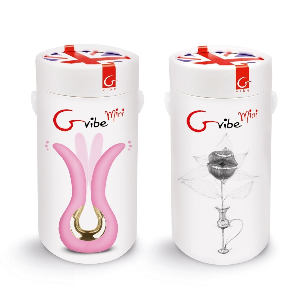 Gvibe MINI – Dual Mini Vibrator To Stimulate The Clitoris, Vagina And Anus