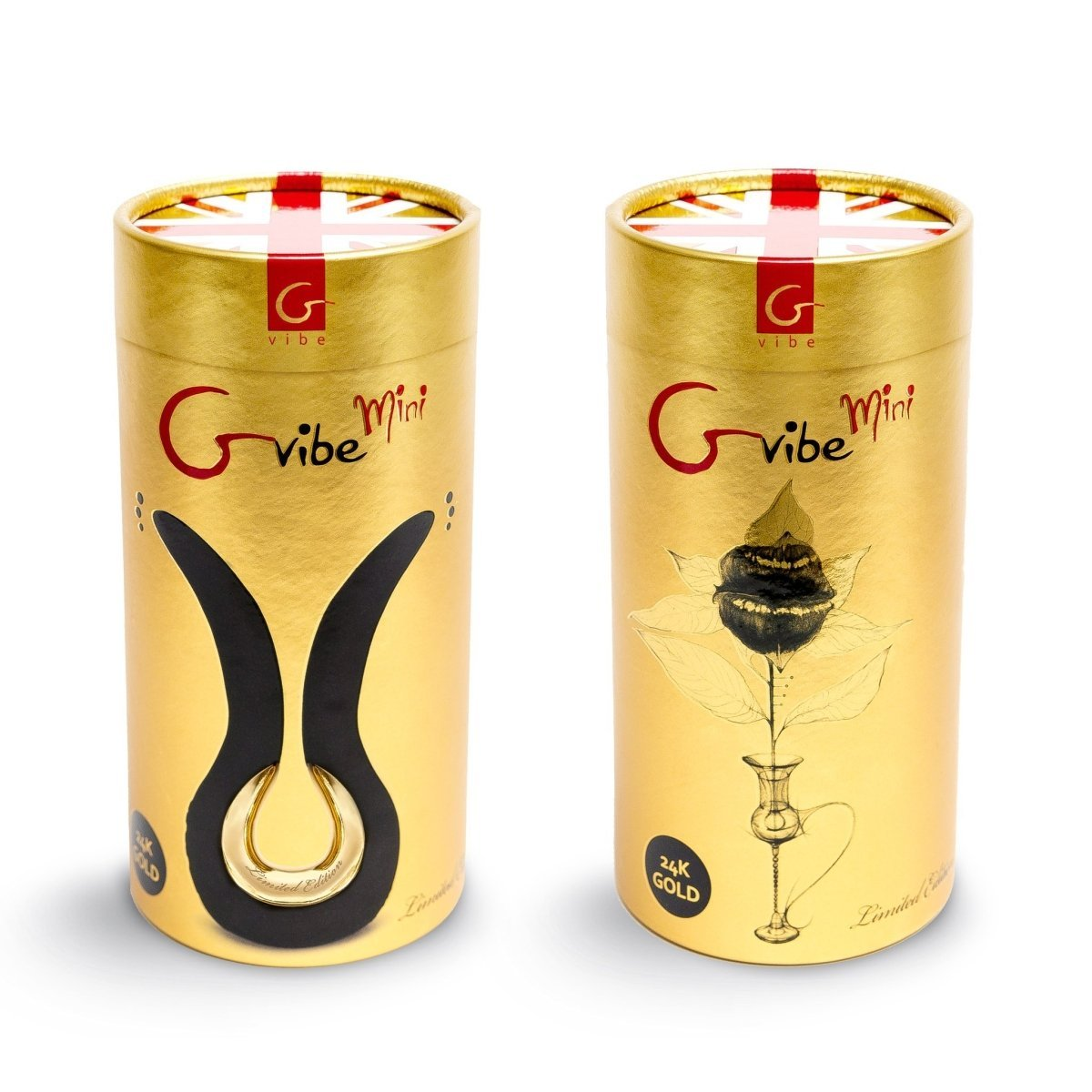 Gvibe MINI GOLD – Double Vibrator To Stimulate The Clitoris, Vagina And Anus - Buy Sex Toys Gvibe.com