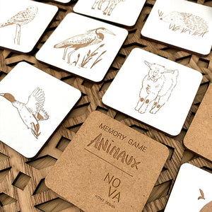 Memory game - Animaux