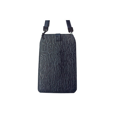 Black Bark (Embossed Leather / Back: Same as front)