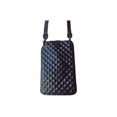 Black Diamonds (Embossed Leather / Back: Solid Black Leather)