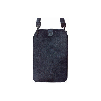 Black (Hair-on-hide / Back: Solid Black Leather)