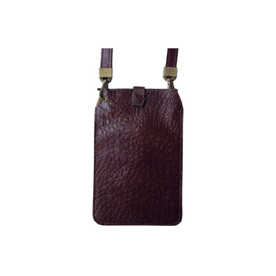 Brown Croc (Embossed Leather / Back: Same as front)