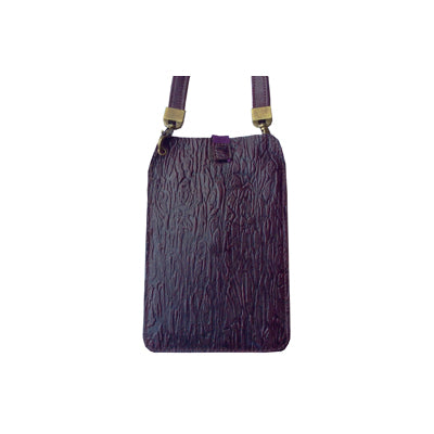 Burgundy Bark (Embossed Leather / Back: Same as front)