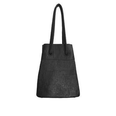 Black Bark (Embossed Leather)