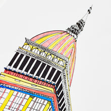 Load image into Gallery viewer, Italien Mole Antonelliana size A4