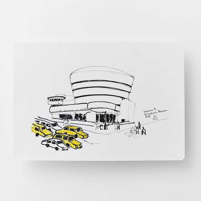 The Solomon R. Guggenheim Museum size A4