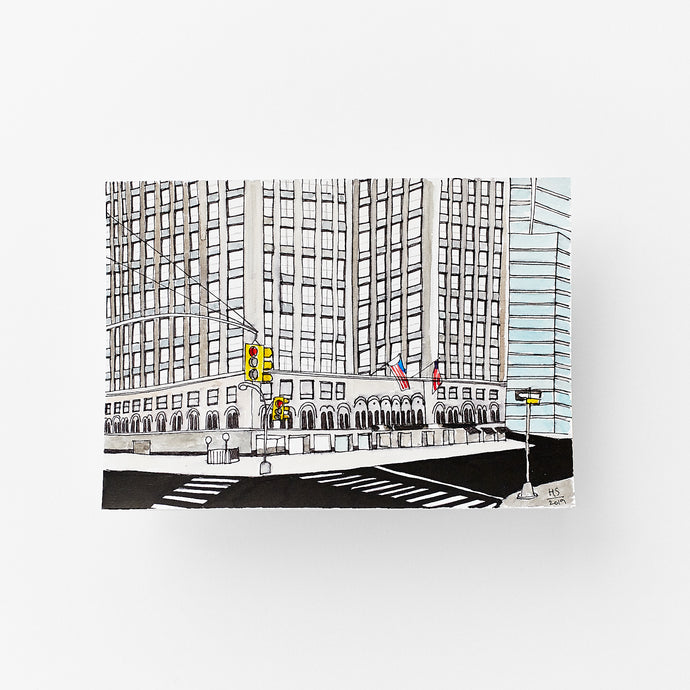 New York City Hotel size 14,9 x 21 cm