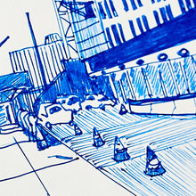 Load image into Gallery viewer, Roadwork NYC size 12,2 x 19,2 cm