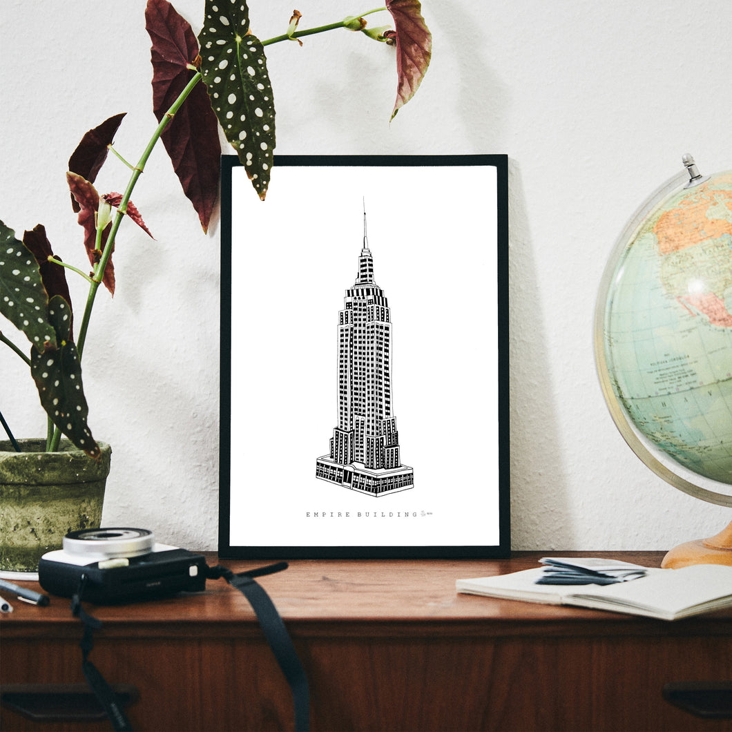 Empire building size A3