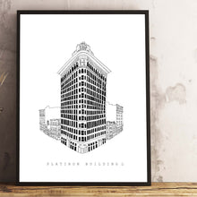 Load image into Gallery viewer, Flatiron building size A3