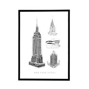 New York City size A3