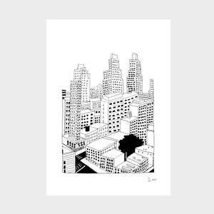 New York size A4