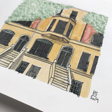 Load image into Gallery viewer, NYC town house - A5