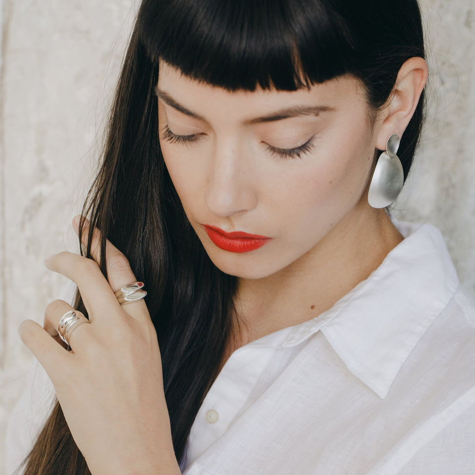 MARI statement earrings