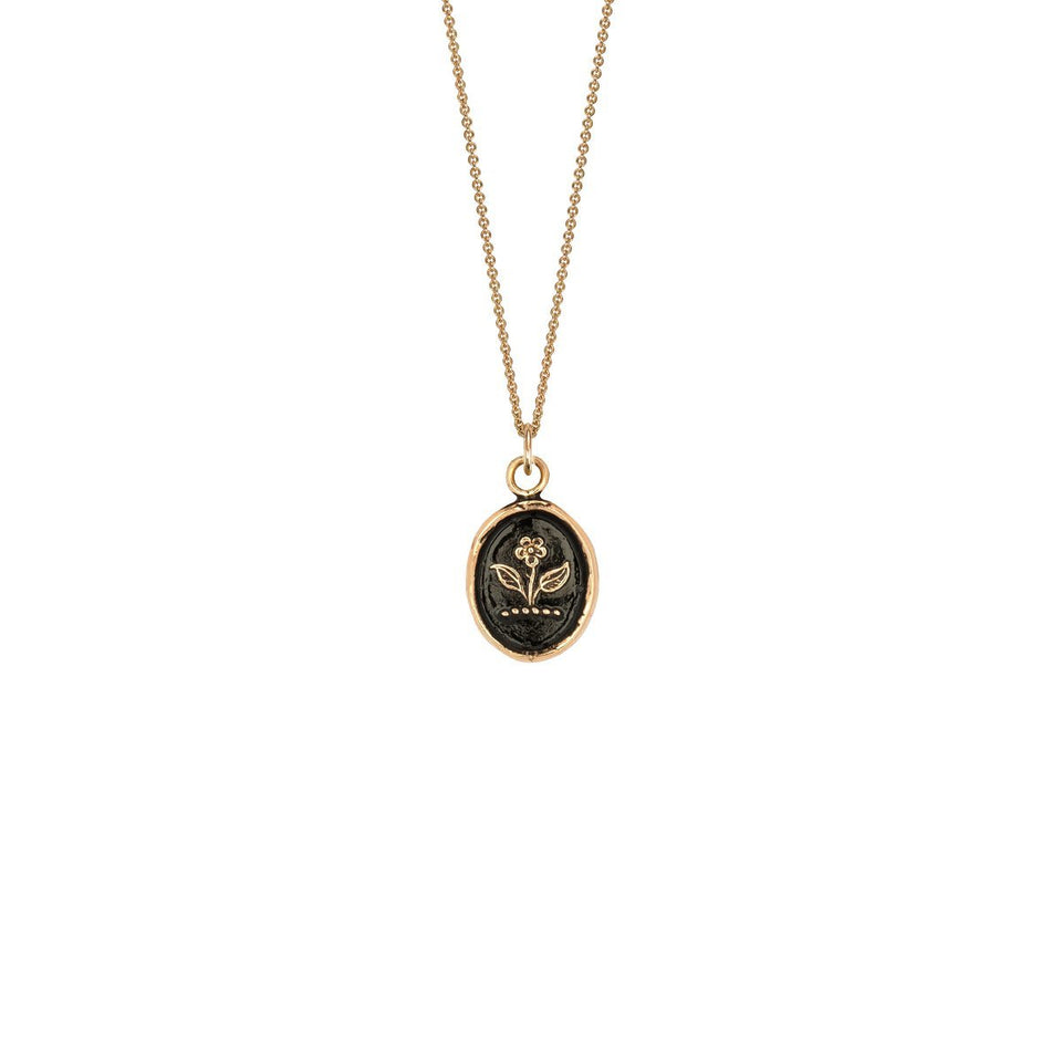 Beauty & Strength 14K Gold Talisman
