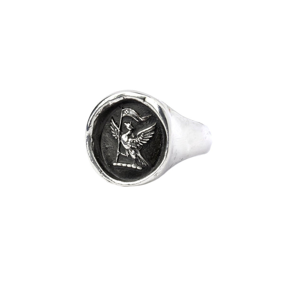 Never Settle Signet Ring