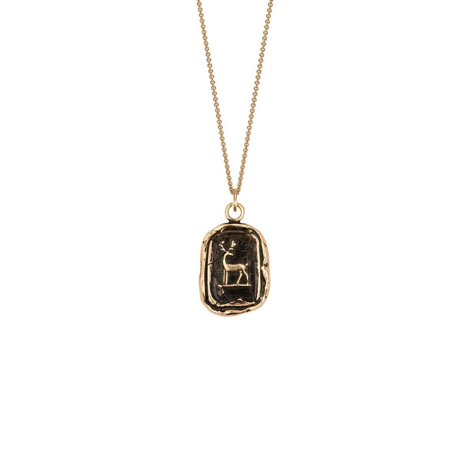 Whole Hearted 14K Gold Talisman