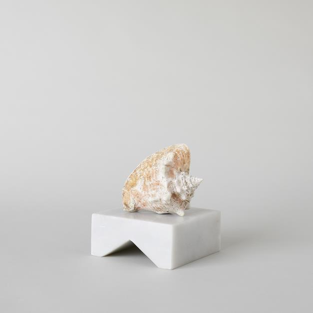 White Marble Sculpture Base