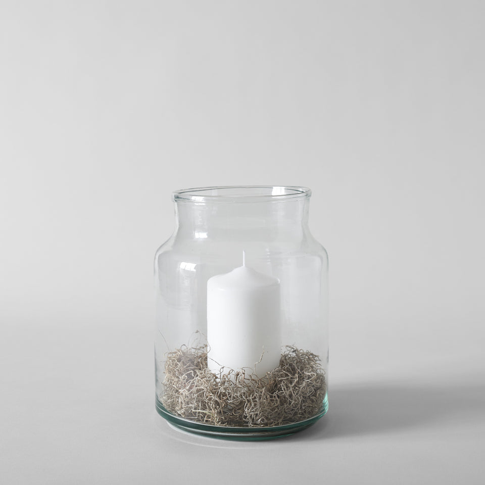 European Recycled Glass Jar